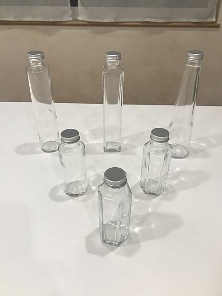 ハーバリウムの瓶